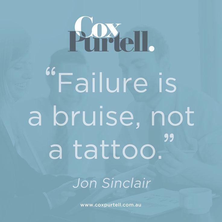 Jon Sinclair Quote - Cox Purtell Recruitment