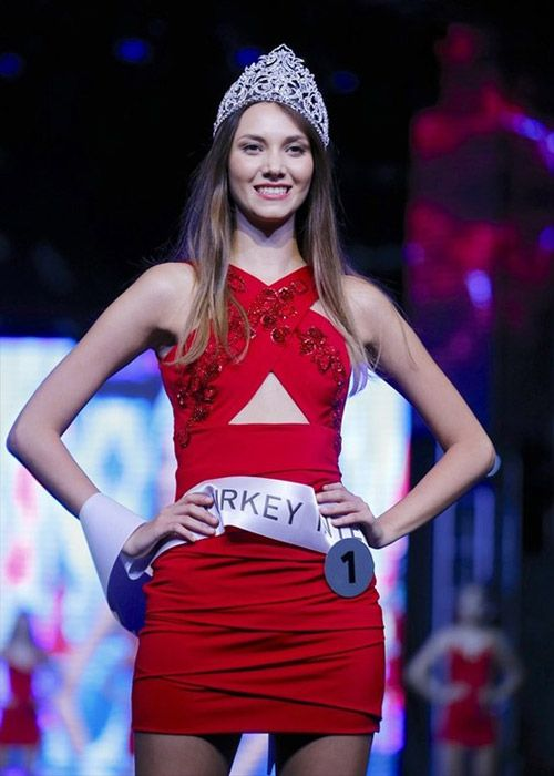 Çağla Çukurova Miss Turkey International 2016 Rose Turkish