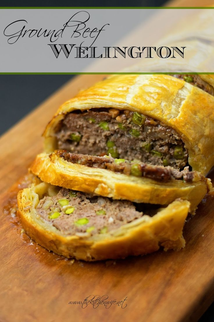 My humble approach to one of the culinary world's food giants, Ground Beef Wellington. It may be humble, but it is definitely sure to impress!