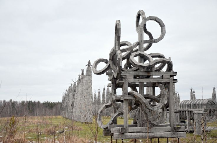 Nikola Lenivets - land-art from Russia http://yaturistka.ru/blog/design/1968.html #yaturistka #russia #art