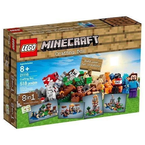 Lego Minecraft Creative Adventures Crafting Box 21116 | eBay