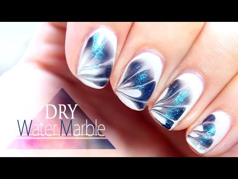 25 best ideas about marble nails tutorial on pinterest wow nails cracked nails and water - Nail art facile ...