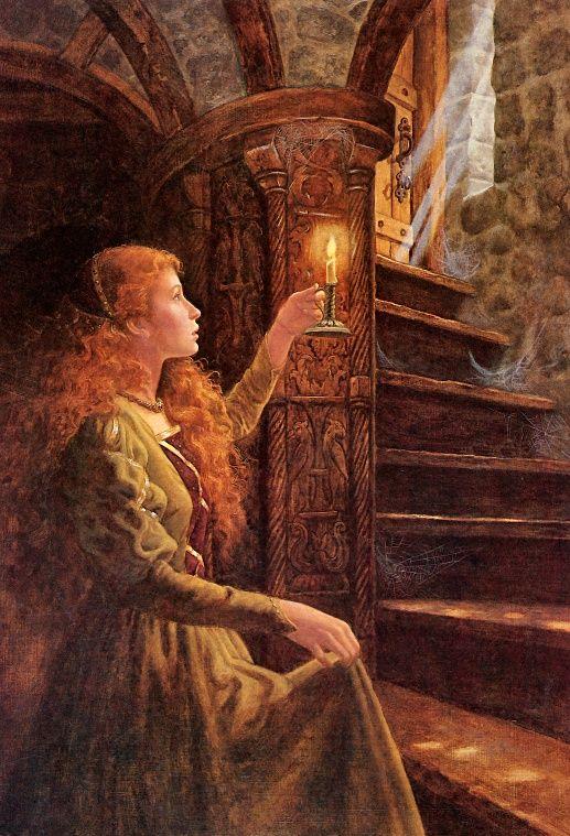 retold by Jane Yolen  The Sleeping Beauty  ISBN: 978-0394554334  Картинки отсюда