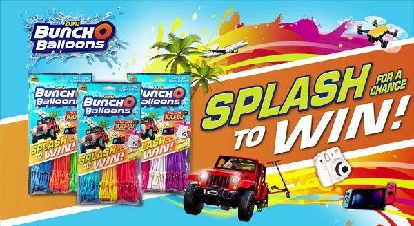 Www Bunchoballoons Com Win A Family Getaway Jeep Nintendo