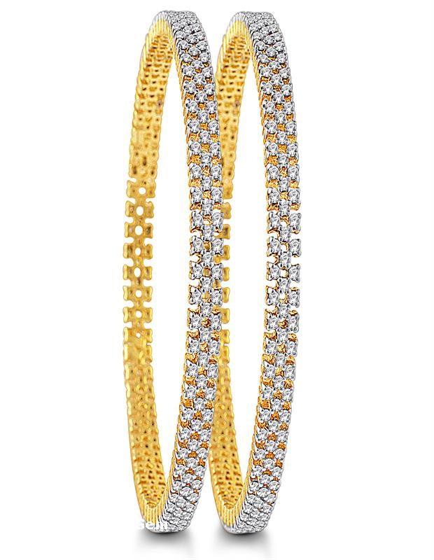 Zestful diamond bangles | diamonds4you.com - See more at: http://www.diamonds4you.com/item/75.aspx#sthash.3GwFcn7u.dpuf #jewellery #onlinejewellery #classicjewelllery #bangles #diamonds #diamondjewellery #classic