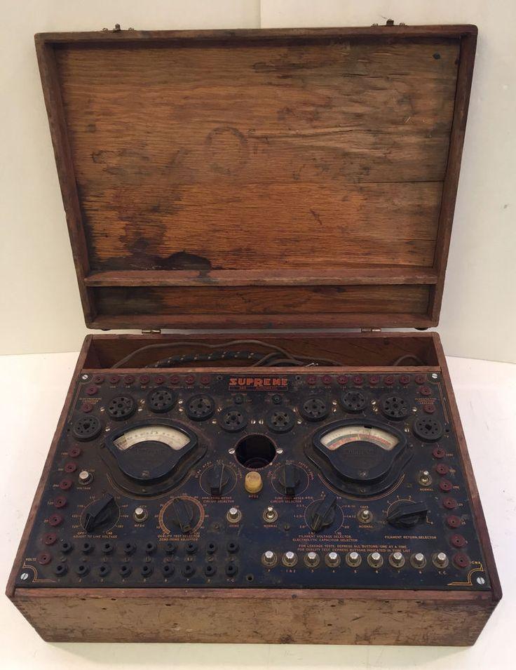 Electronics Tester Parts : Best images about vintage electronics on pinterest