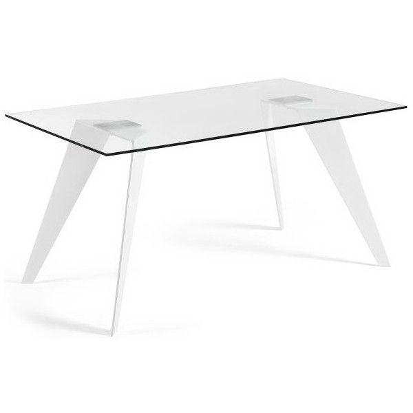 Incantevole tavolo, elegante e raffinato. Semplice ma accattivante. Il delicato colore bianco e la luminosità del piano creano spazio all'ambiente.