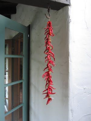 Saving the Season - Journal - Dried Cayenne Peppers