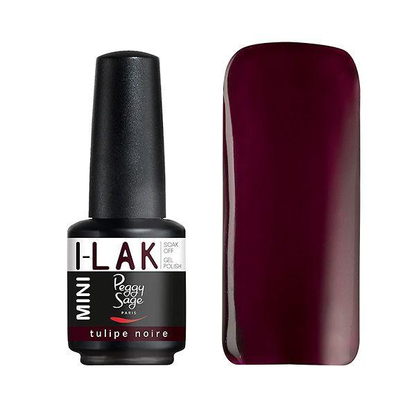 """Vernis semi-permanent I-LAK MINI """"Tulipe noire-190517"""" - Découvrez nos vernis semi-permanents version mini 9 ml ! Pose ultra rapide, couleurs spectaculaires et tenue longue durée. #NailPolish #NailLacquer #nail"""