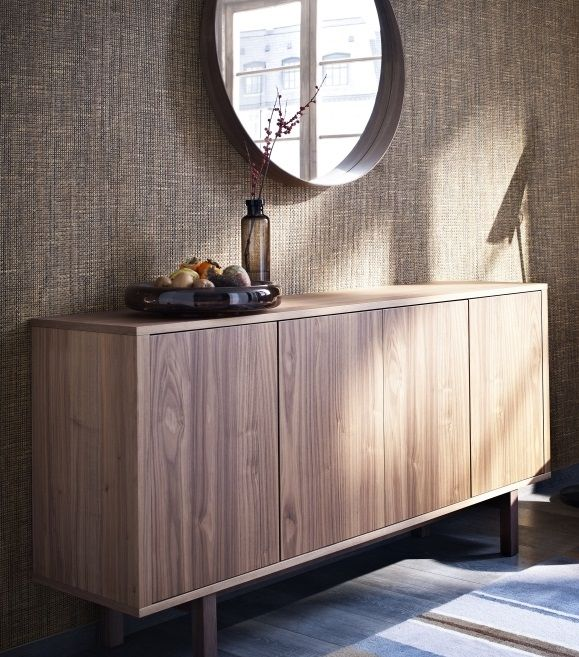 walnut veneer sideboard 1
