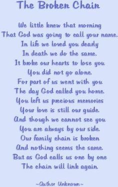 poem about dad passing away - Google Search