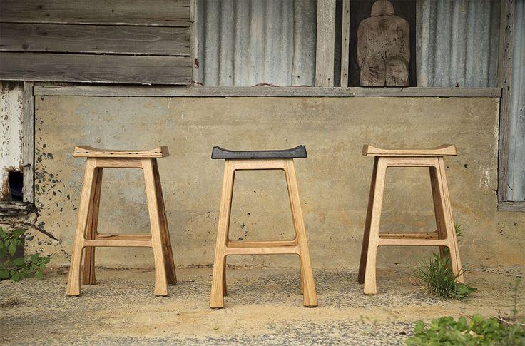 Great stools by Nicholls Design.