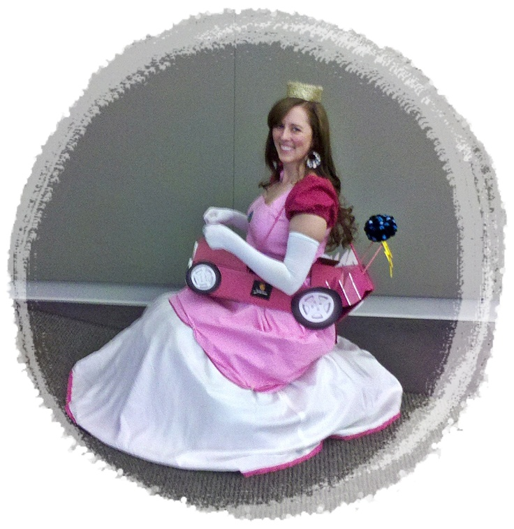 Princess Peach Toadstool- My Actual Halloween Costume - Made everything myself except the gloves!!!