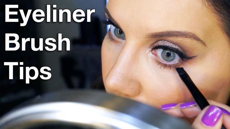 AWESOME Eyeliner Brush Tips | Tip Tuesday