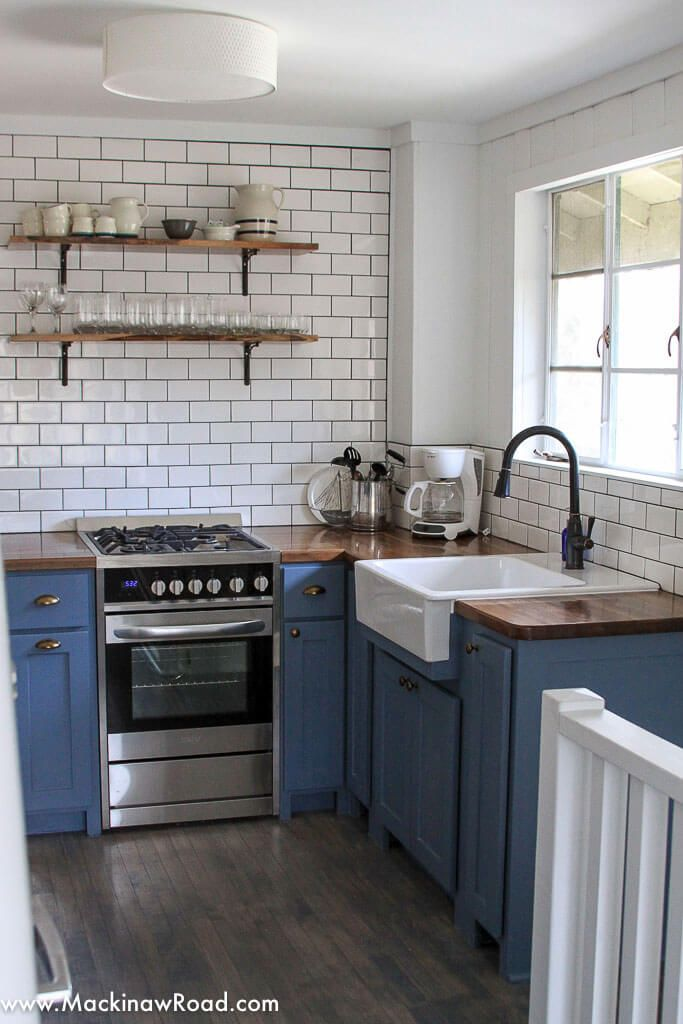 An Airbnb Inspired Fridge Obsession Mackinaw Road Small Kitchen Renovations Diy Kitchen Renovation Kitchen Renovation