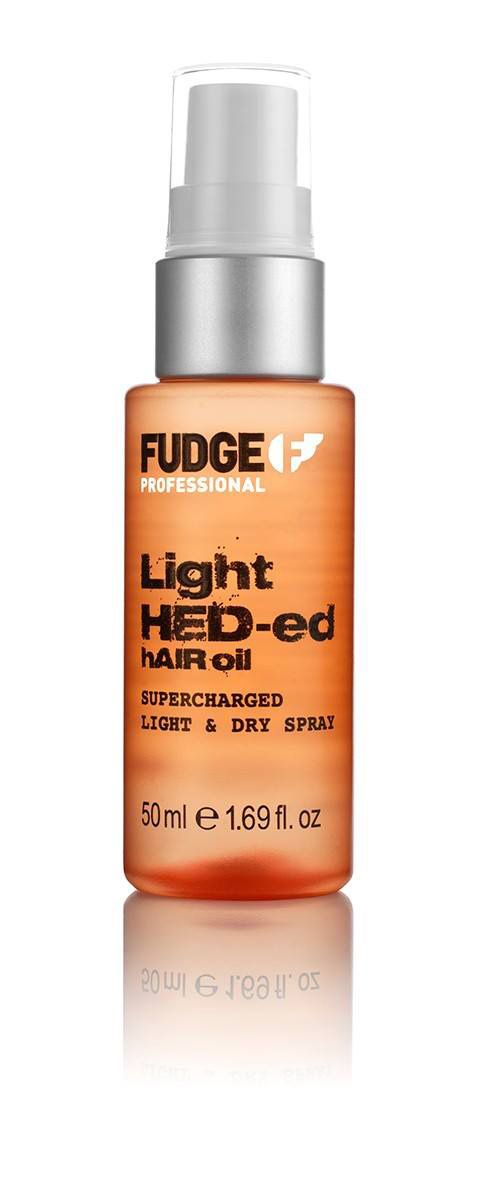Fudge Professional Light HED-ed Hair Oil Spray 50ml.