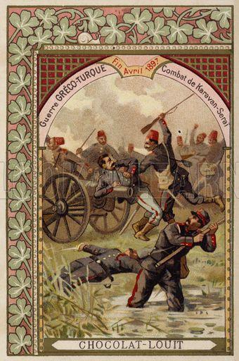 Battle of Karavan-Serai, Greco-Turkish War, April 1897