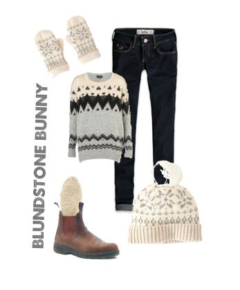 blundstone winter boots and awesome outfit!