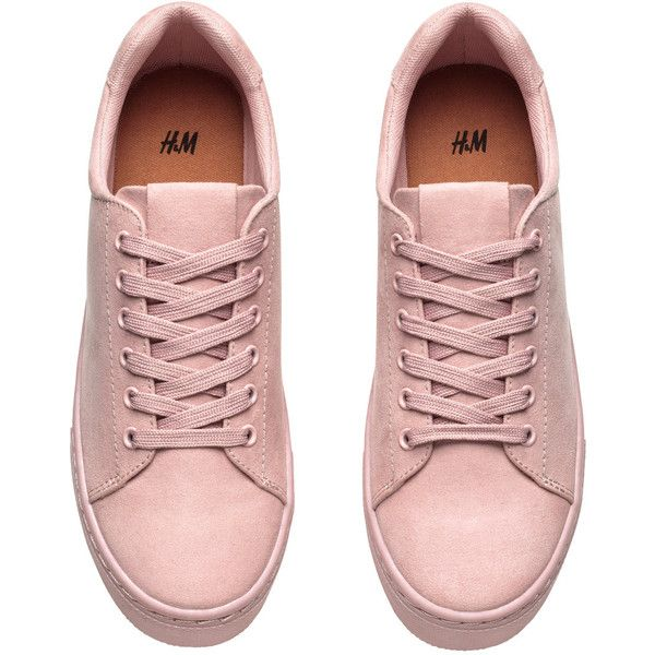 H&M Sneakers 139.30 ($25) ❤ liked on Polyvore featuring shoes, sneakers, h&m sneakers and h&m shoes