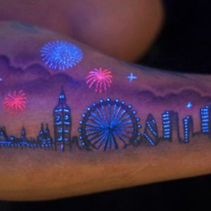 Glow In The Dark Tattoo