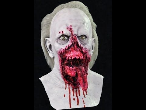 halloween mask dr tongue day of the dead - Bloody Halloween Masks