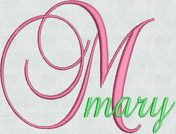Embroidery Machine Fonts Designs Alphabet by MaineMomBoutique, $6.95
