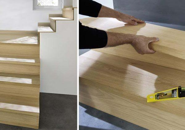 Renovez Votre Escalier Avec Des Marches Pretes A Poser Renover Escalier Habillage Escalier Habillage Escalier Beton