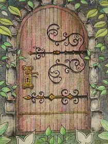 Passion for Pencils: My Secret Garden colouring book