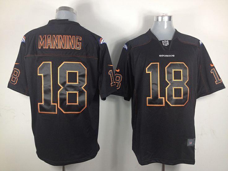 2012 new nfl jerseys denver broncos 18 peyton manning game shadow black jerseys