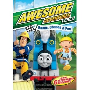 Reviewed By Mom: Awesome Adventures Volume 2: Races, Chases & Fun....R!: Adventure Volume, Dvd Boxes, Dvd Review, Adventure Features, Bobs The Builder, Awesome Adventure, Fun Dvd, Kids Dvds, Current Giveaways
