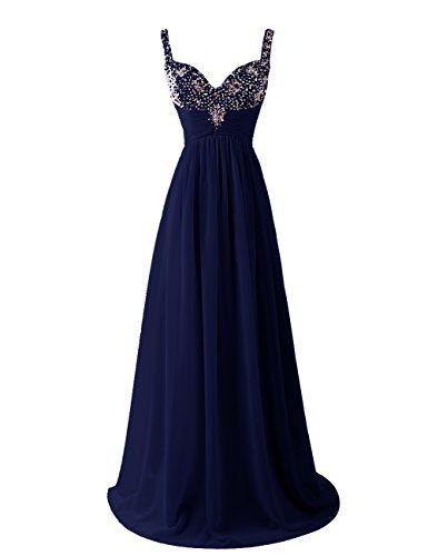 Dresstells Women's Long Straps Chiffon Prom Dress Ruffles Evening Dress Party Dress with Sequins Navy Size 6 Dresstells http://www.amazon.co.uk/dp/B00U8HSWMS/ref=cm_sw_r_pi_dp_xdwuvb0BY64SD