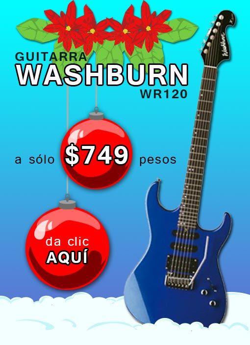 Guitarra Washburn WR120 a $749 pesos