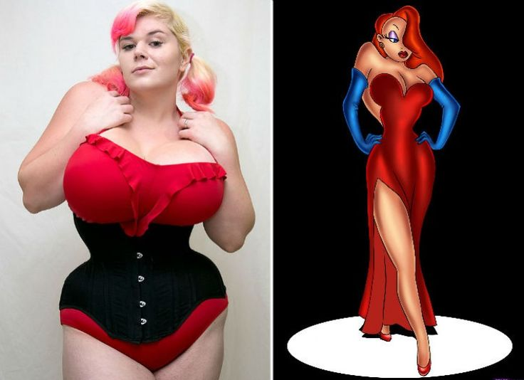 http://www.minq.com/beauty/7137/11-most-extreme-plastic-surgeries-of-2014 -   Penny Brown  If you are going to model yourself after someone, why not choose the sexiest cartoon character, Jessica Rabbit? That's exactly what Penny Brown did.