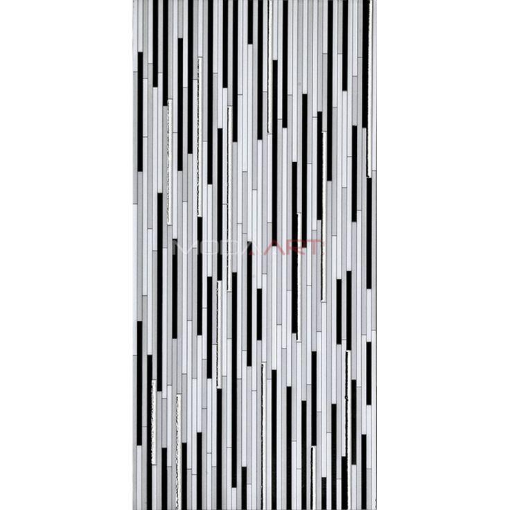 30x60cm Stick Gri Gümüş
