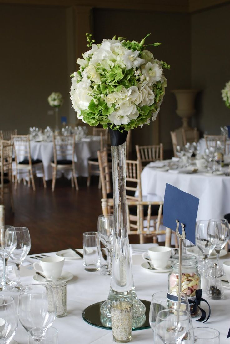 Tall vases for wedding centerpieces reception