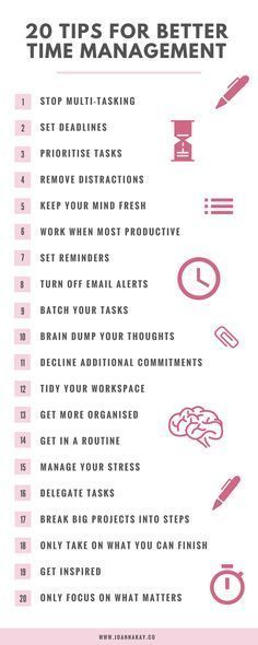 20 Time Management Tips When You Work From Home