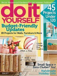 41 best gifts for diyers images on pinterest craft gift ideas and do it yourself magazine 2 year subscription solutioingenieria Image collections
