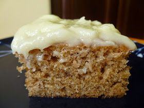 Banana Sheet Cake with Cream Cheese Frosting  - made April 19. 2015 from Simply Recipes     After my last two baking debacles ( Snickerdoodl...