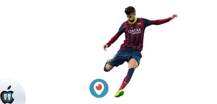 Periscope triunfa en la App Store española gracias a Piqué - http://www.actualidadiphone.com/periscope-triunfa-la-app-store-espanola-gracias-pique/