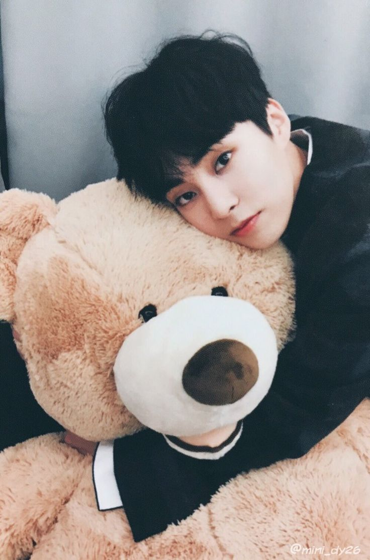 Cuite, #XIUMIN ah how to be that bear :))