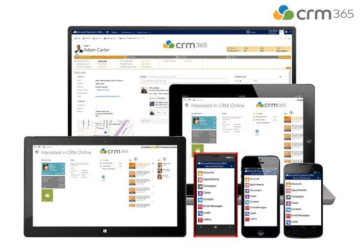 CRM 365 ile müşteri hizmetlerine her zaman, her yerden erişim ve mobil işletim sistemleri ve cihazlar için en iyi duruma getirilmiş gerçek zamanlı hizmet sunun