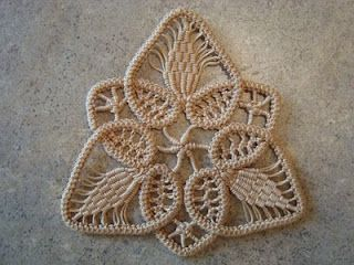 Romanian Point Lace with Full Tutorial.  Looks interesting.