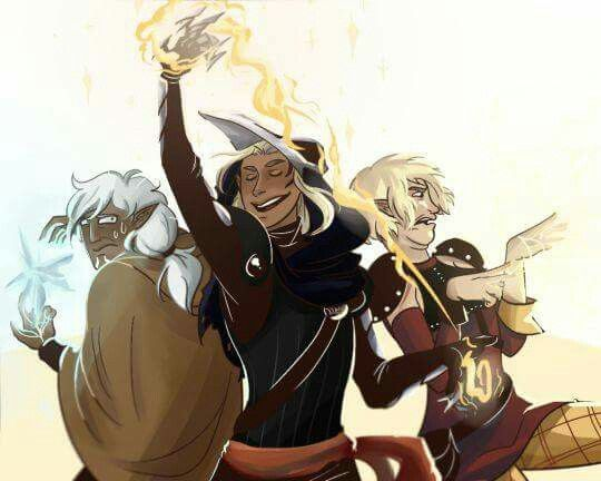 Elves when magic comes back. | Poor Fenris and Sera. Zeveran however looks like he is going to have a ball!
