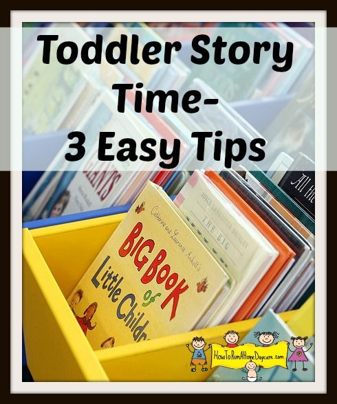Toddler Story Time - Keeping Them Interested in Reading