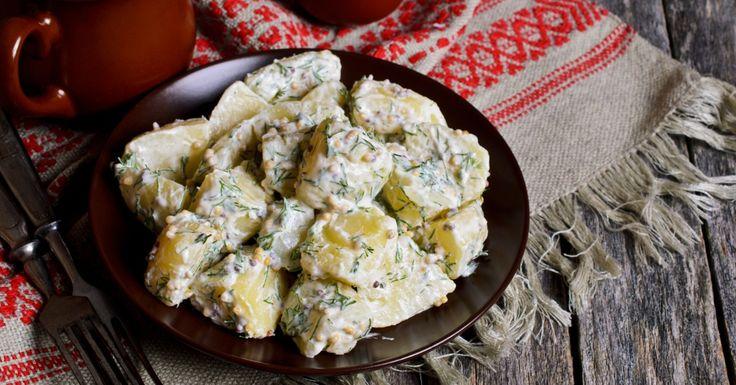 Salade de pommes de terre avec vinaigrette ranch - Recettes - Recettes simples et géniales! - Ma Fourchette - Délicieuses recettes de cuisine, astuces culinaires et plus encore!