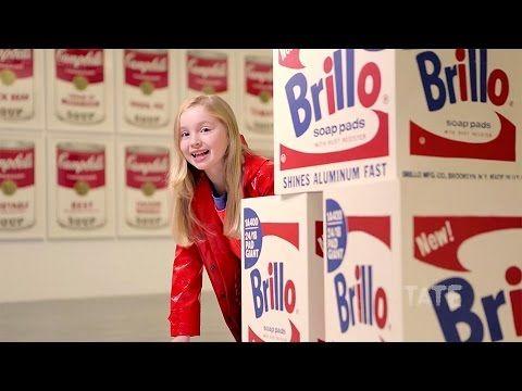 Pop Art   Tate Kids CIRCLE TIME VIDEO MONDAY 10/3