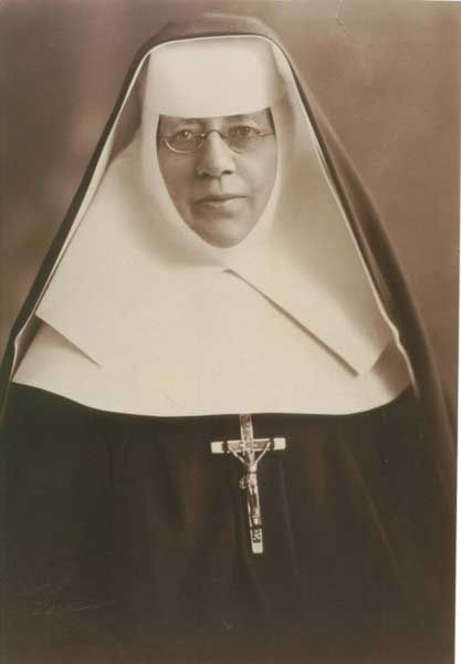 Mother Katharine Drexel -  foundress of the Sisters of the Blessed Sacrament…