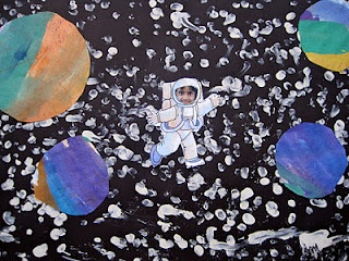 cool space craft Another adorable craft I want to do with the kids!