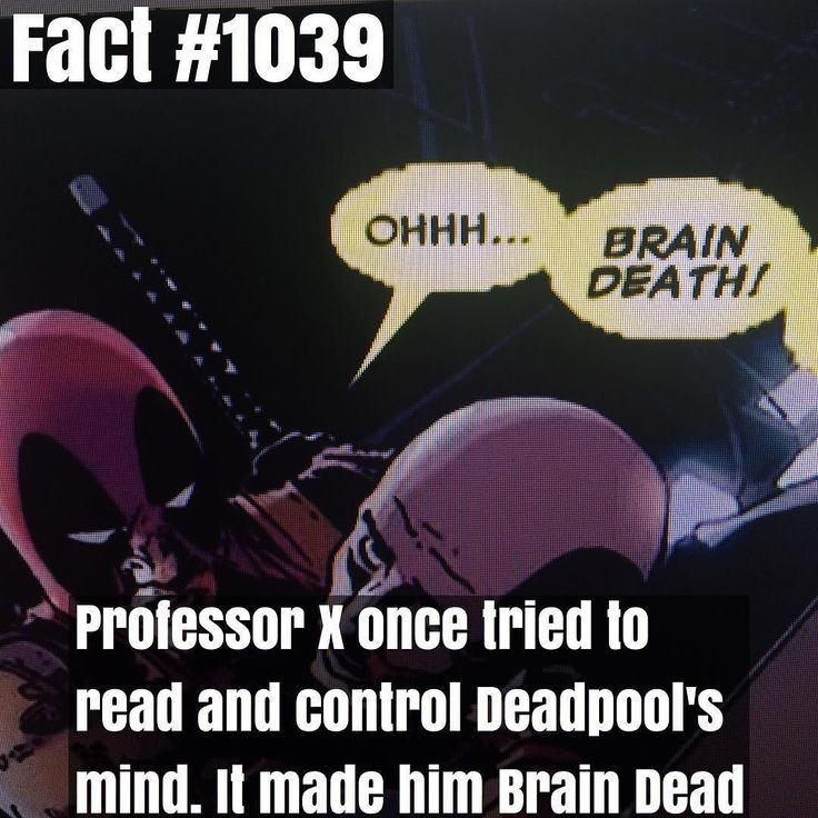 Wow........ Wow Deadpool.... by superhero_facts_daily