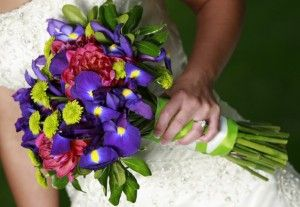 purple-iris-wedding-bouquet